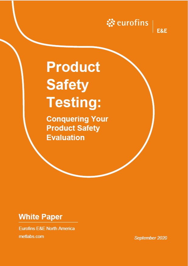 Conquering Product Safety Evaluation WP