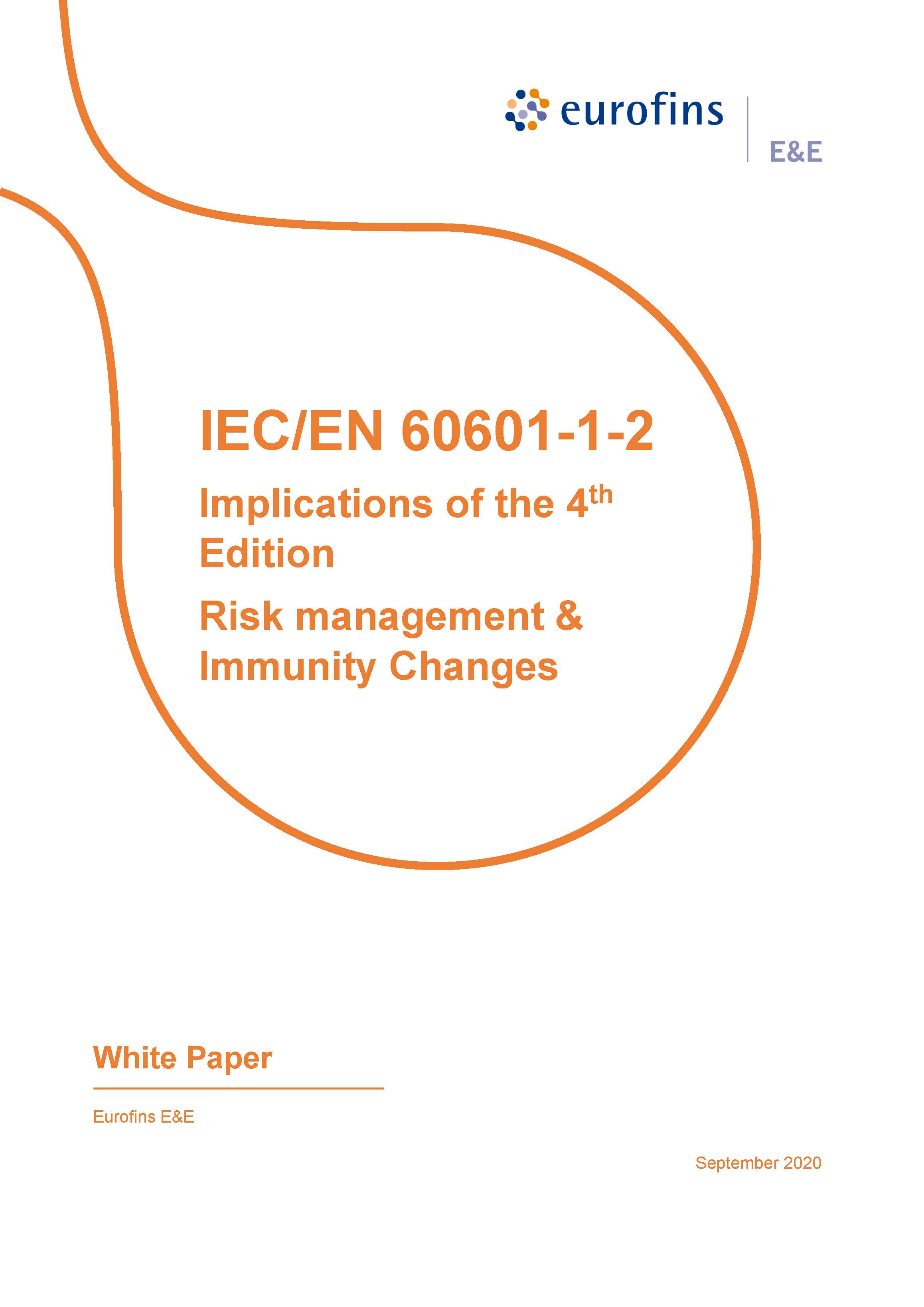 Eurofins E&E North America - White Paper - 4th Edition of 60601-1-2 - December 2020_Page_1