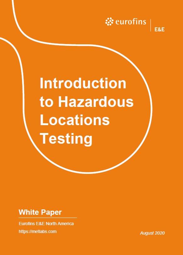 HazLoc White Paper Cover